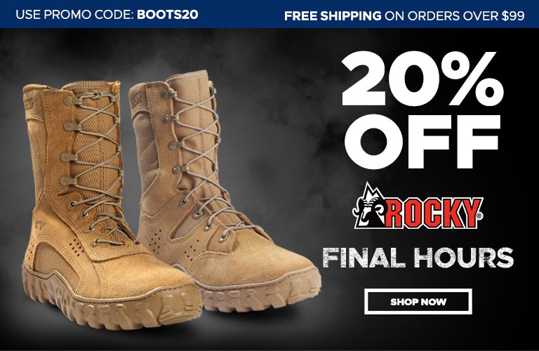 20% Off Rocky