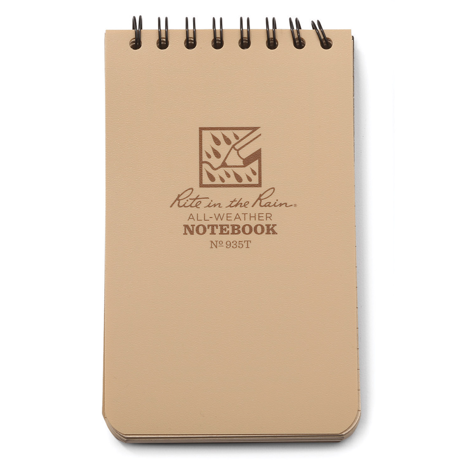 Rite in the Rain All Weather Field Interview Notebook, Tan