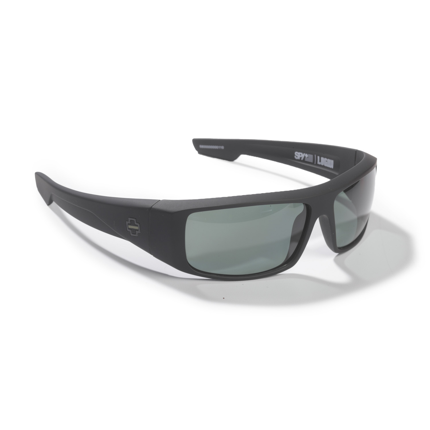 SPY Optic Logan Thin Green Line Sunglasses