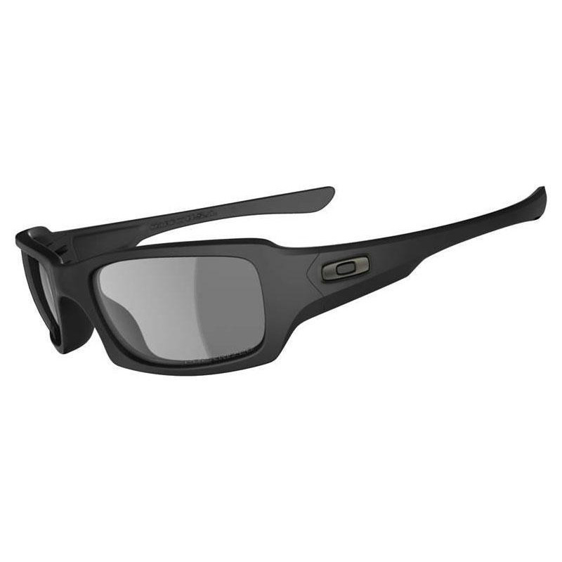 Oakley SI Fives Squared Matte Black Grey Polarized