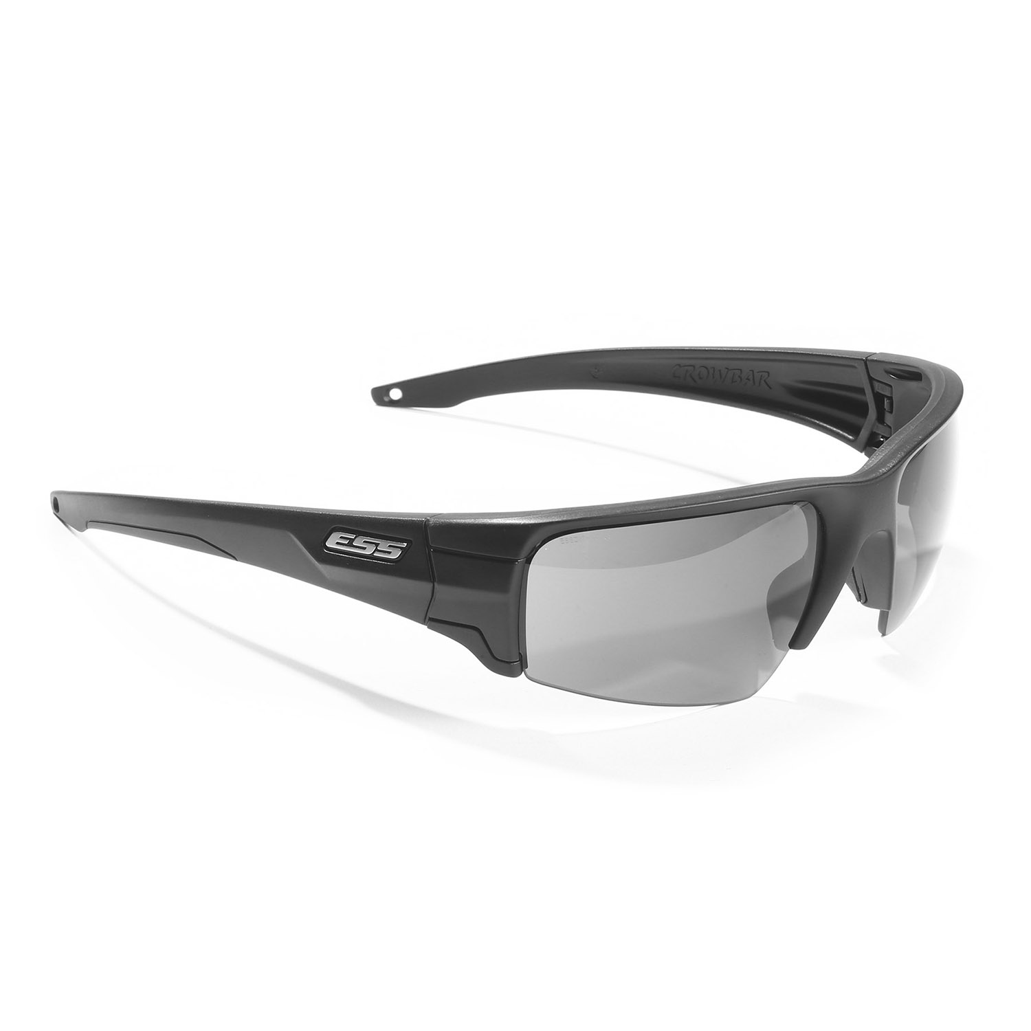 ESS Crowbar Sunglasses with Silver Logo Kit