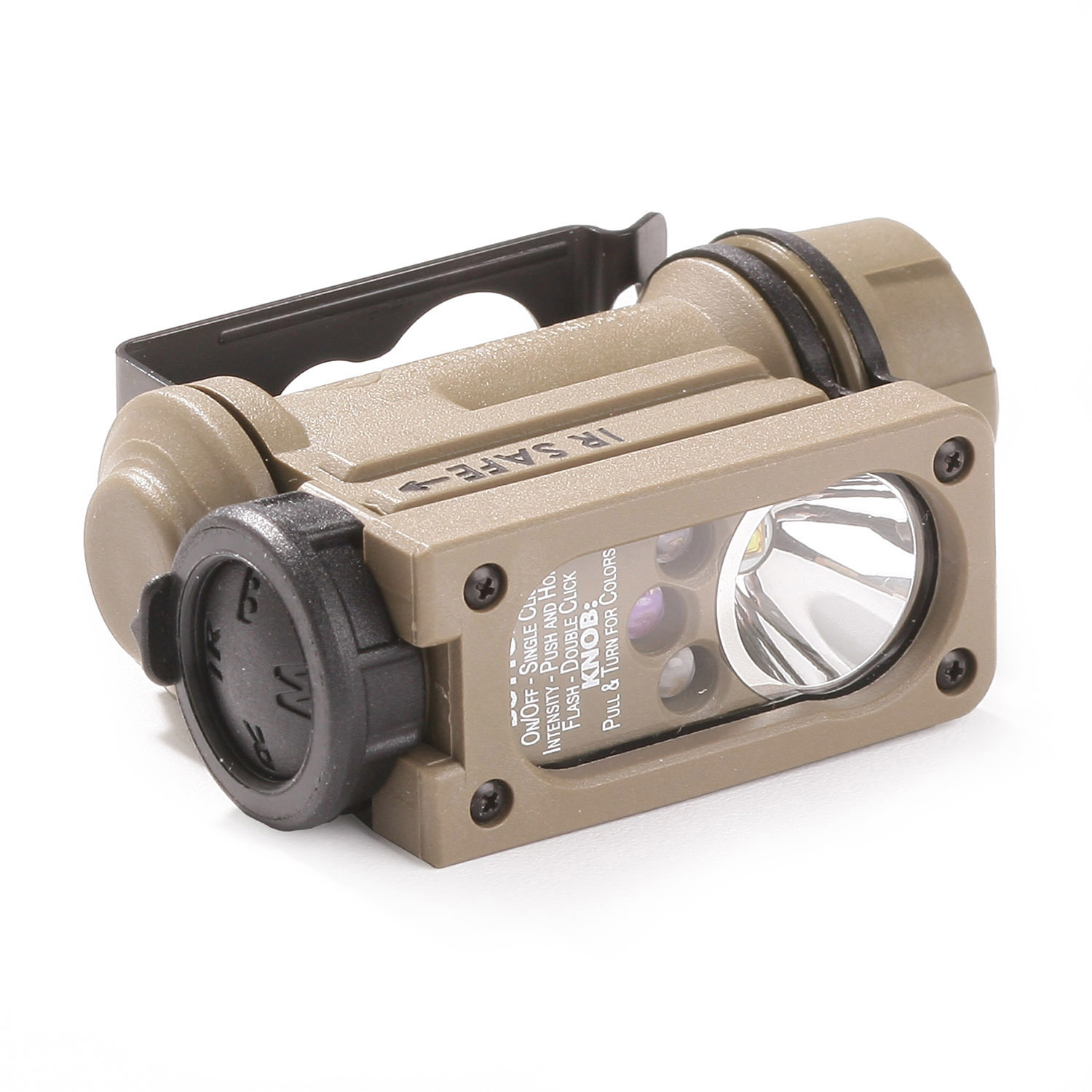 Streamlight Sidewinder Compact II Military Model with Helmet