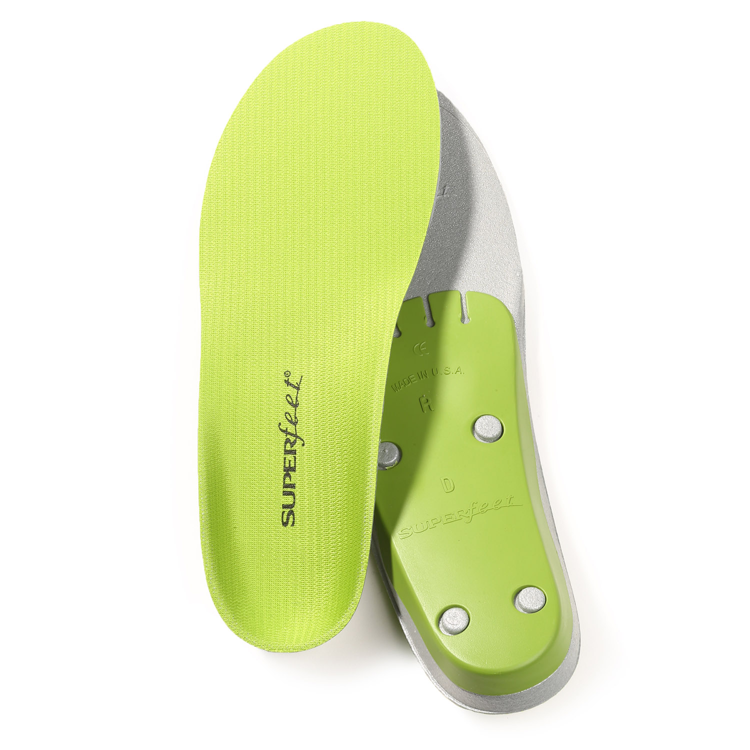 Superfeet Men's Trim-to-Fit Green Insoles