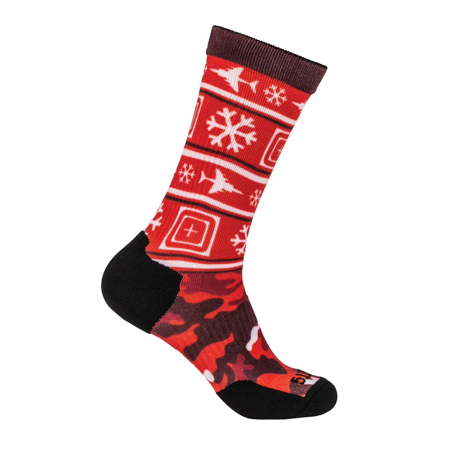 5.11 Sock and Awe Tactical Holiday Crew Sock