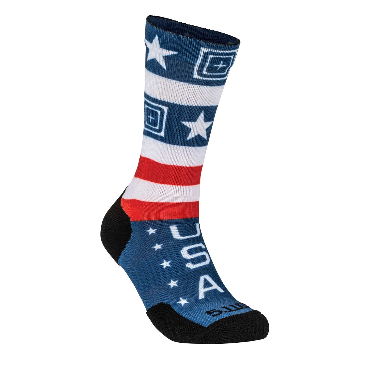 5.11 Sock and Awe American Gladiator Crew Sock