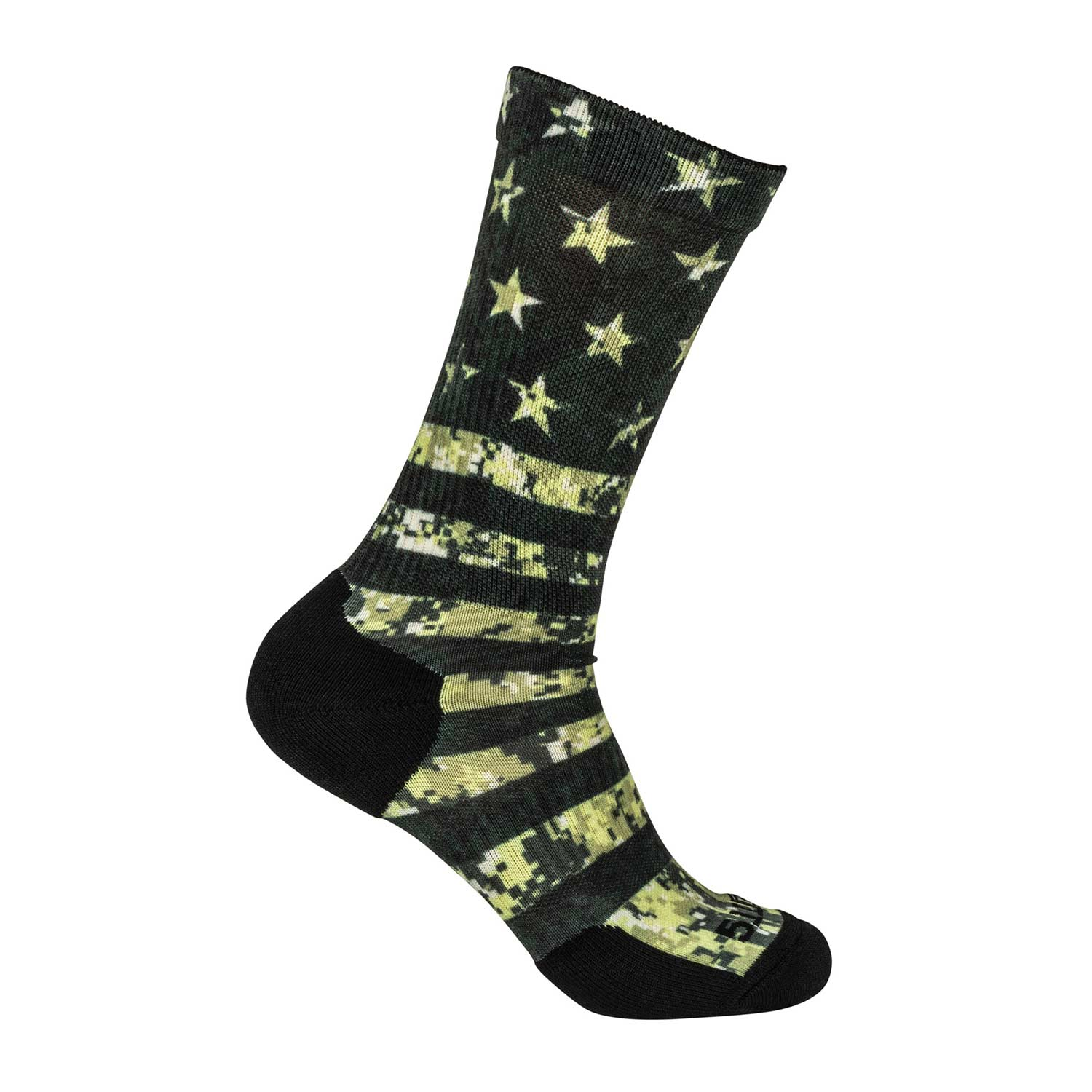 5.11 Sock and Awe Tactical Flag Crew Sock