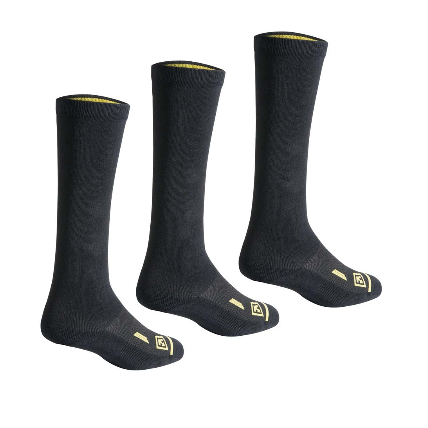 "First Tactical 9"" Cotton Duty Socks (3-Pack)"