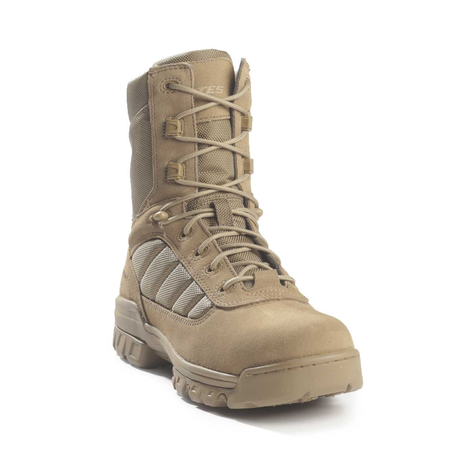 "Bates 8"" Tactical Sport Coyote Side Zip Duty Boot"