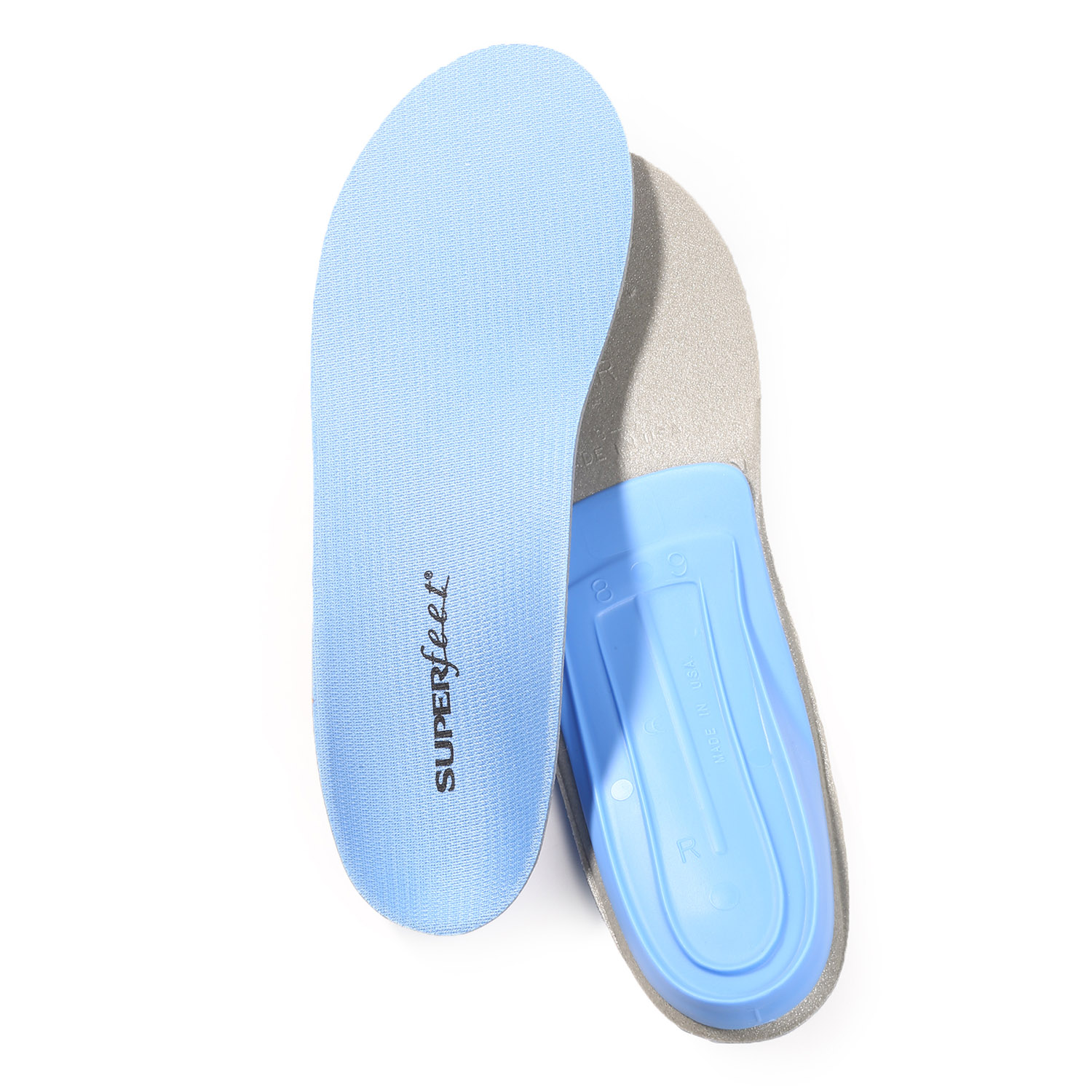 Superfeet Men's Trim-to-Fit Blue Insoles