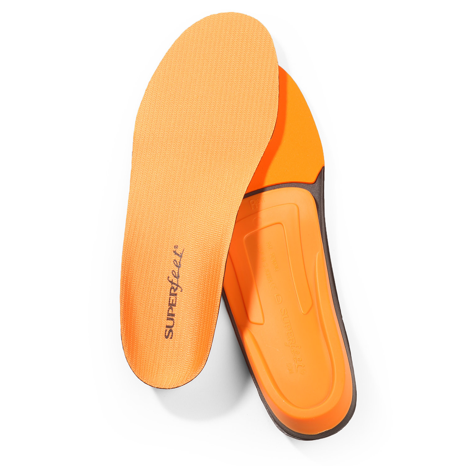 Superfeet Men's Trim-to-Fit Orange Insoles
