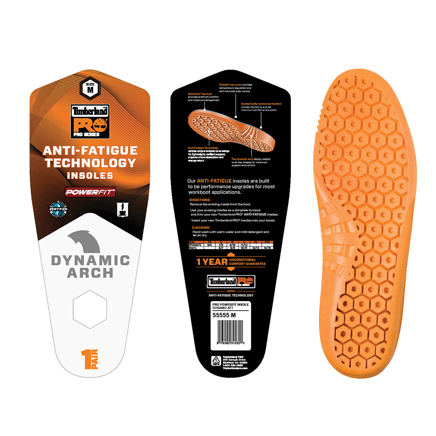 Timberland Pro Anti Fatigue Replacement Insole