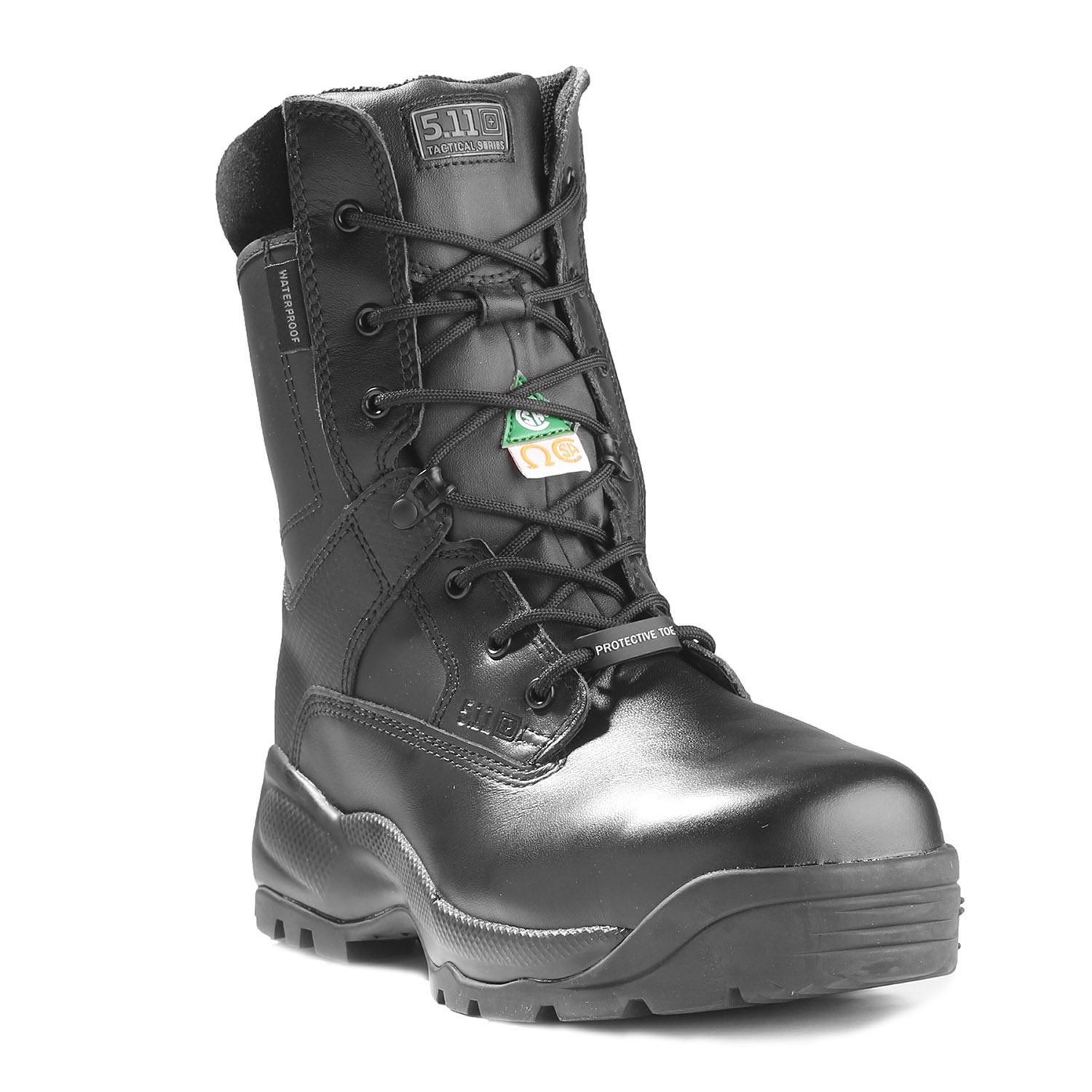 "5.11 Tactical 8"" ATAC Shield Zipper Composite Toe Boot"