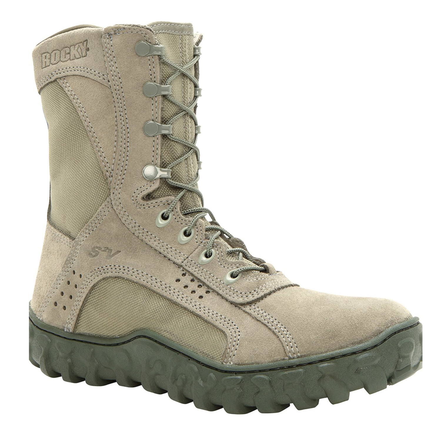 Rocky S2V Military Steel Toe Boot