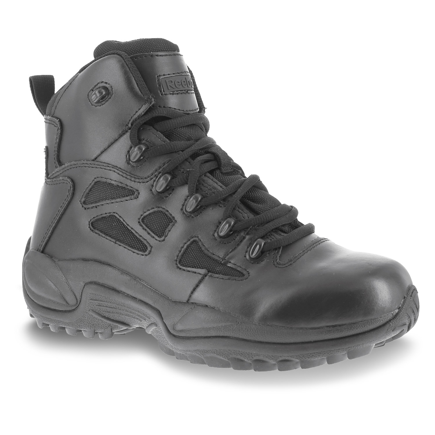 "Reebok 6"" Rapid Response Waterproof Side Zip Tactical B"