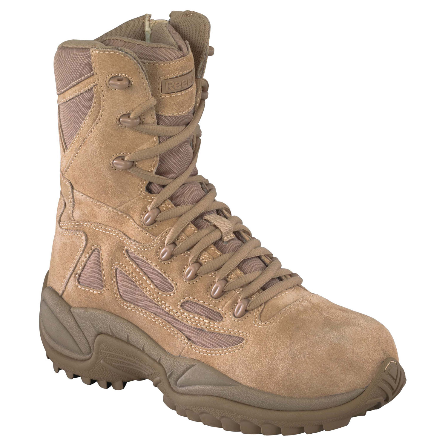 "Reebok Women's 8"" Side Zip Composite Toe Boot"