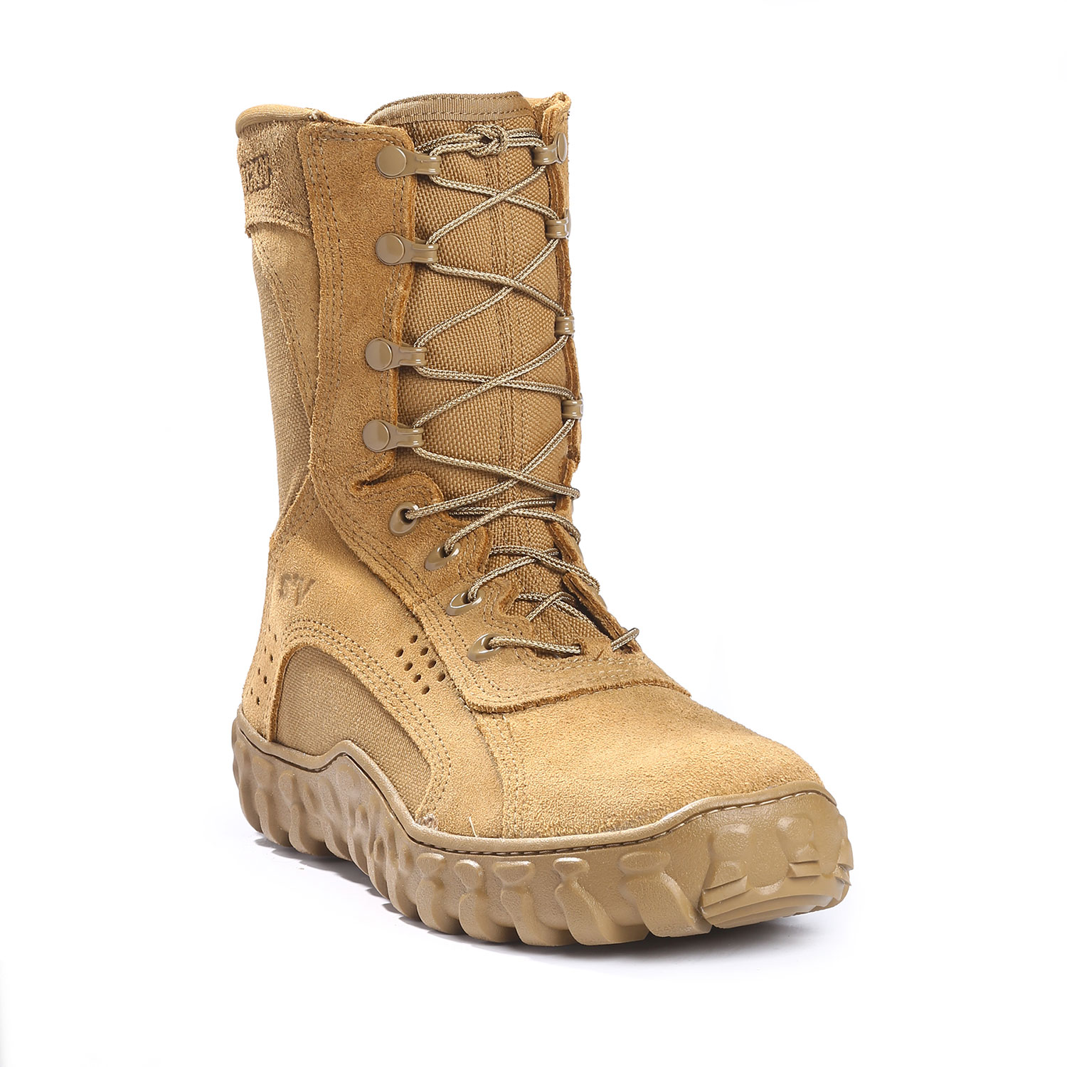 ROCKY ARMY COYOTE BROWN S2V MILITARY BOOT