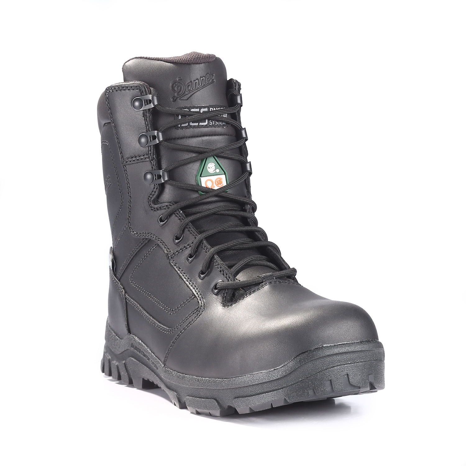 "Danner Lookout 8"" EMS Side Zip Comp Toe Boot"