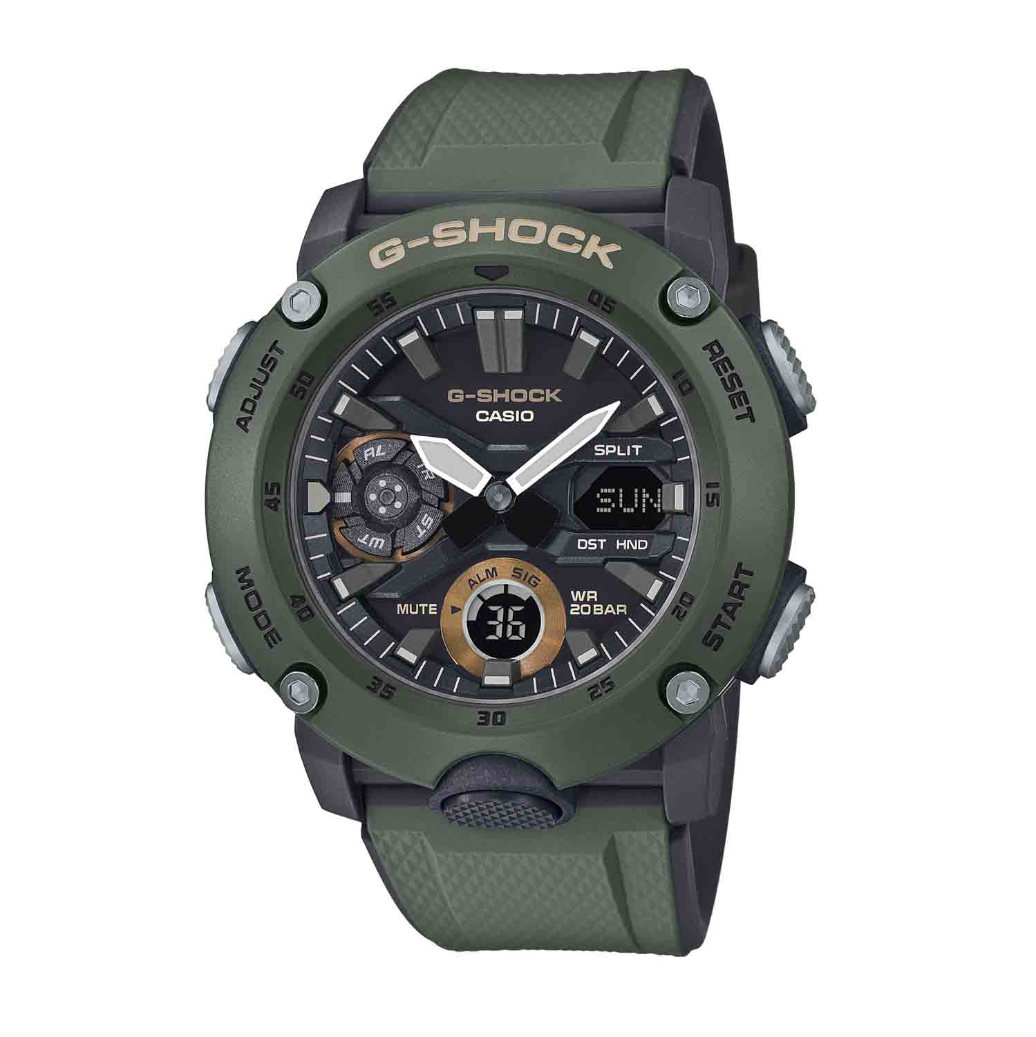 Casio G-Shock G-Carbon Green Watch