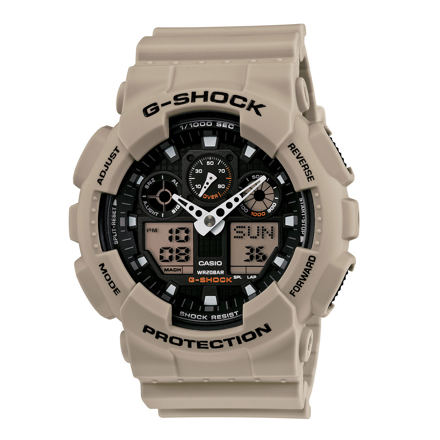 Casio G Shock Military Sand Series Tactical Watch