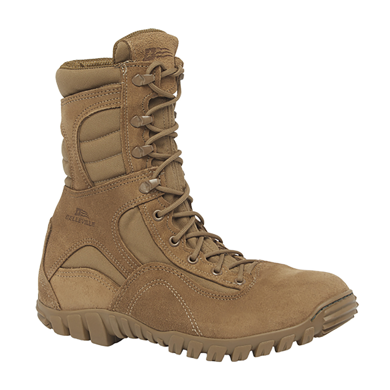 Belleville Hot Weather Hybrid Assault Boot (Coyote)
