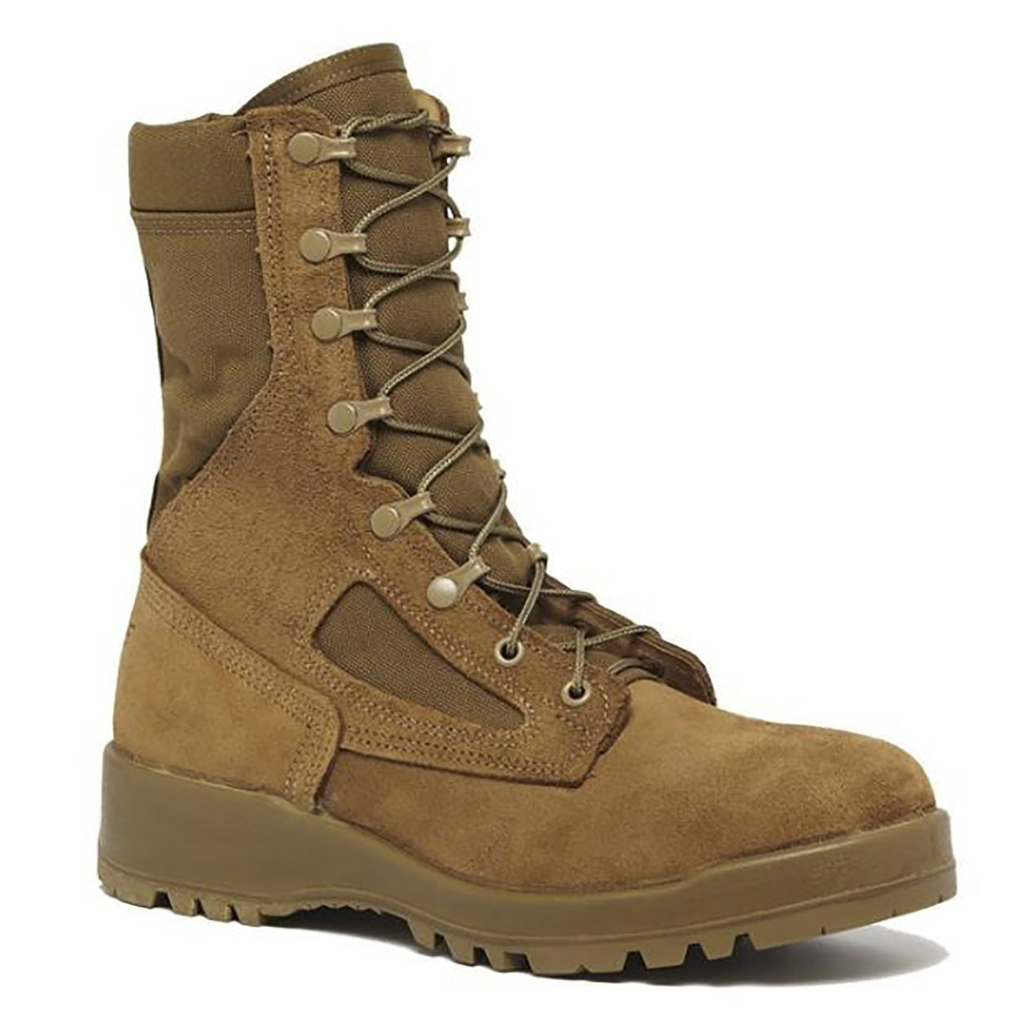 Hot Weather Steel Toe Combat Boots