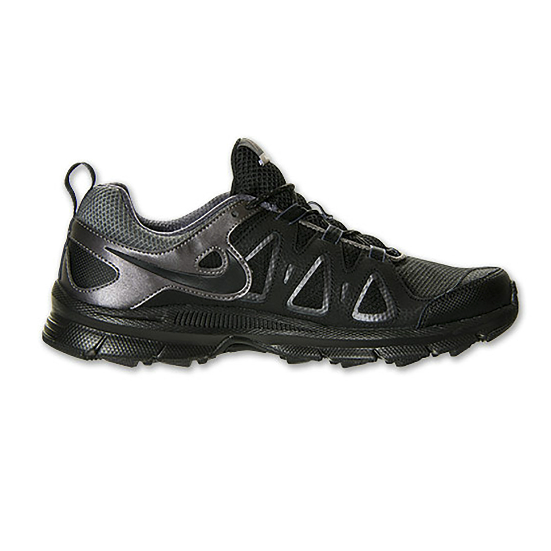 Nike Air Alvord 10 Running Shoes (Black/Metallic Grey)-8R