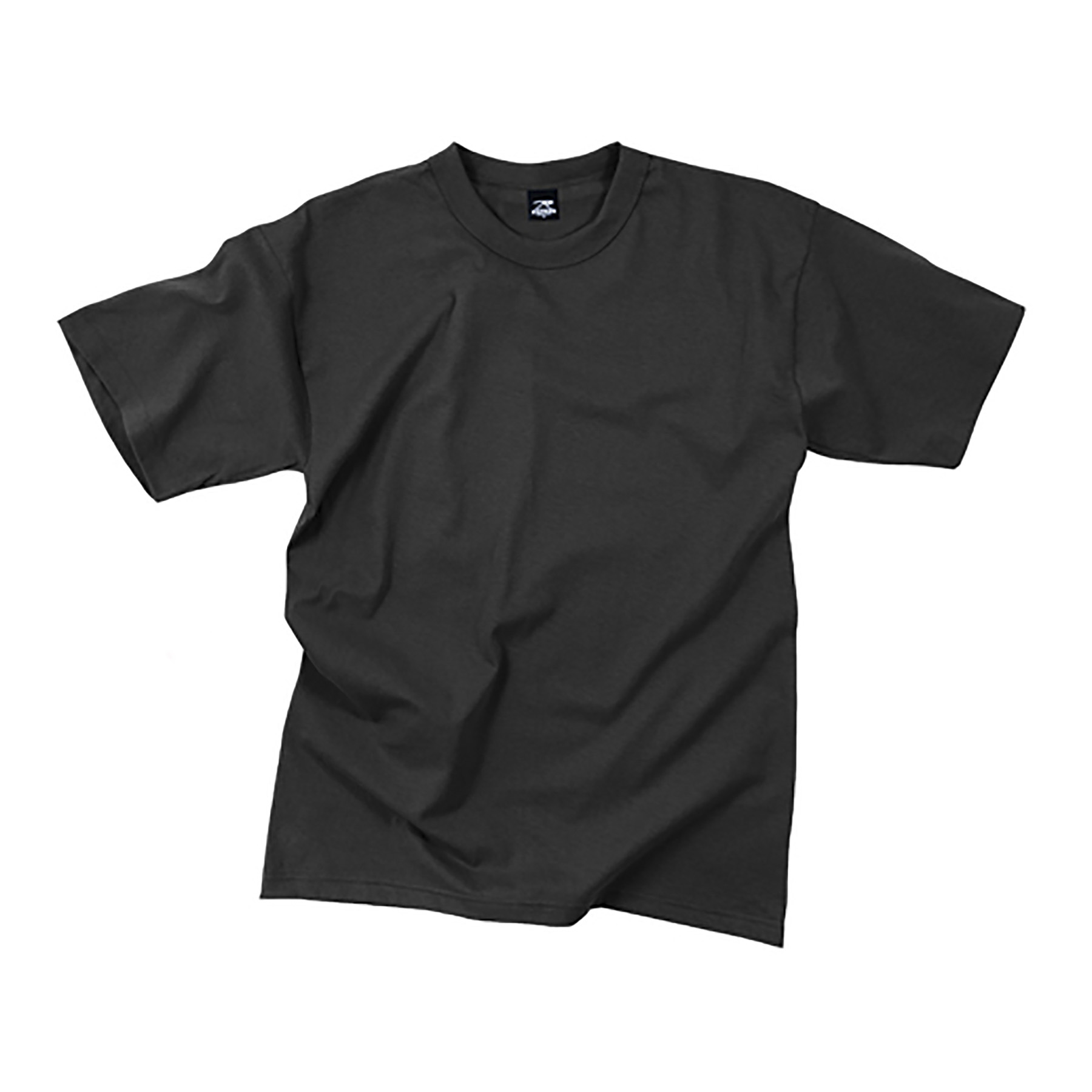 Rothco 100% Cotton T-Shirt (Black)