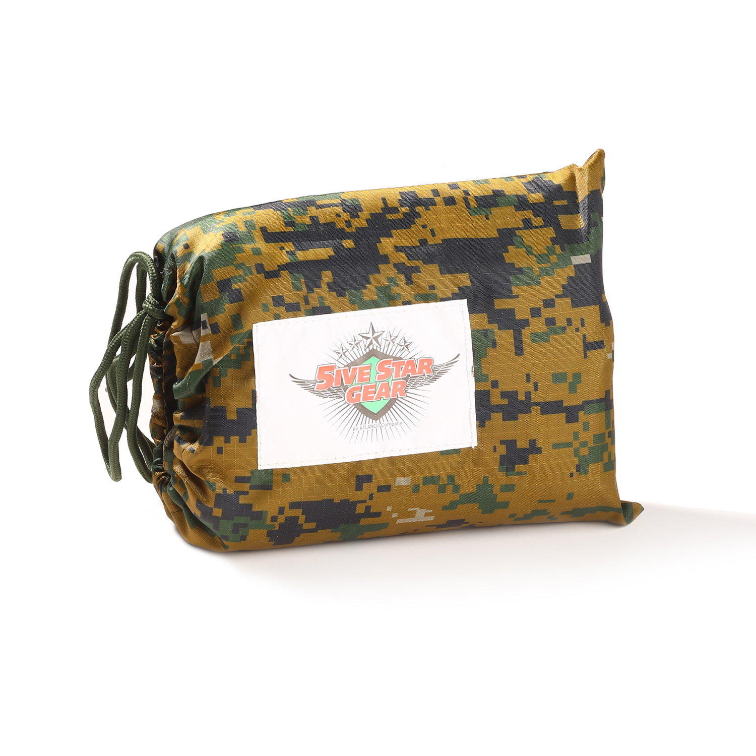 5ive Star Gear Military Poncho (Woodland Digital)