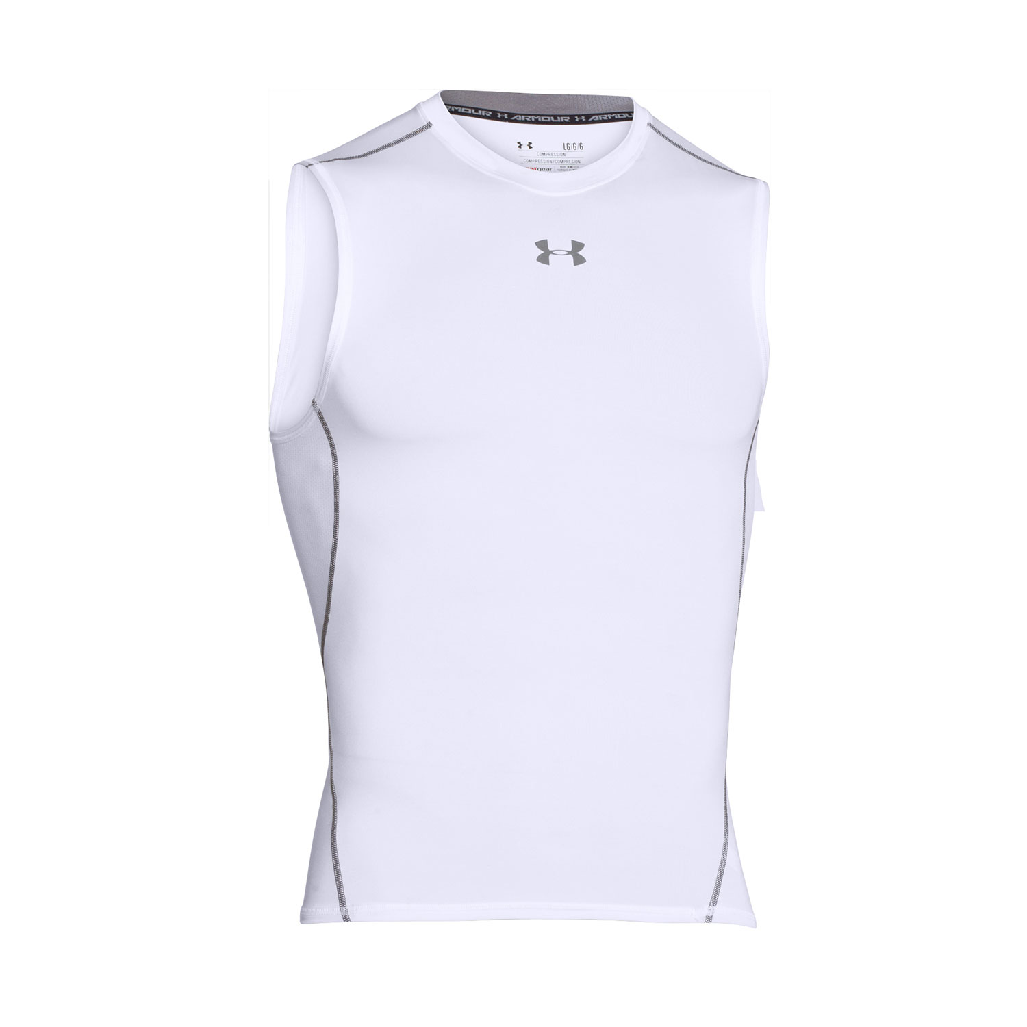 Under Armour Men's HeatGear Compression Sleeveless Tee