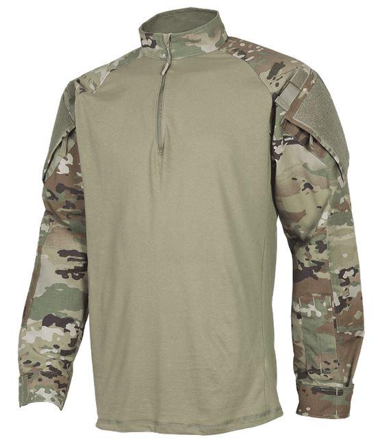 ee015ba93 TRU-SPEC OCP Scorpion W2 ¼ Zip Combat Shirt