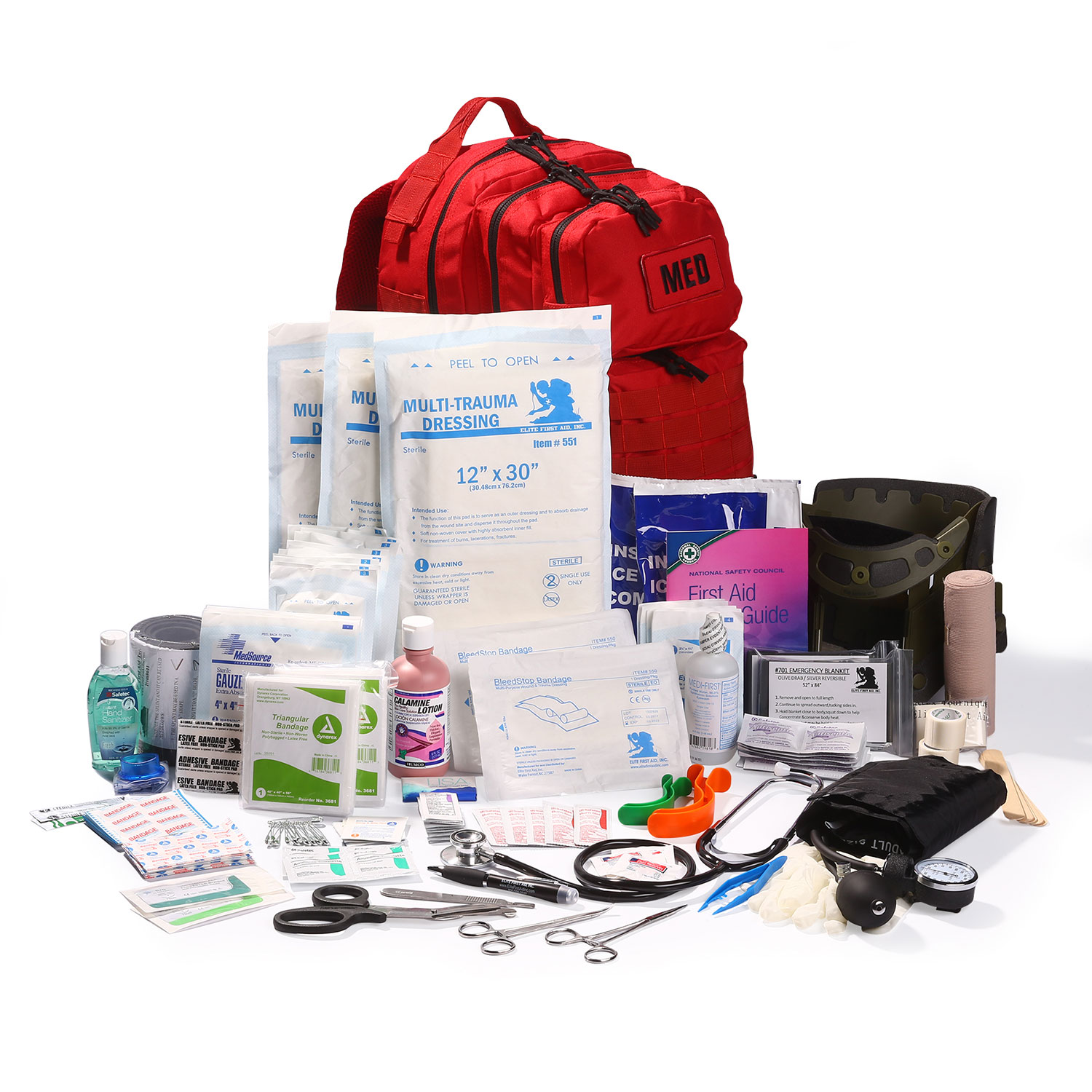 Elite First Aid Tactical Trauma Kit 3
