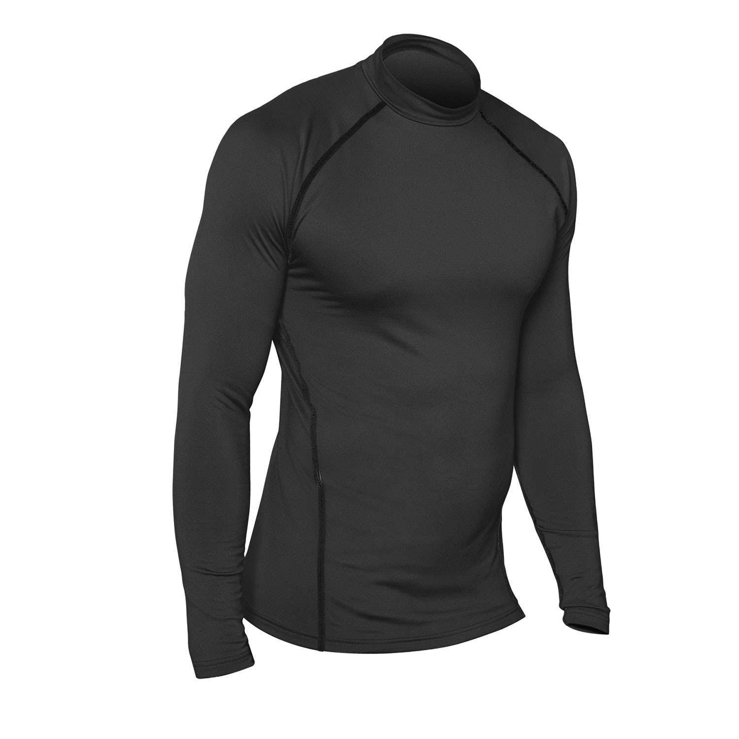 Champion Tactical Competitor Double Dry Long Sleeve Mock Tee