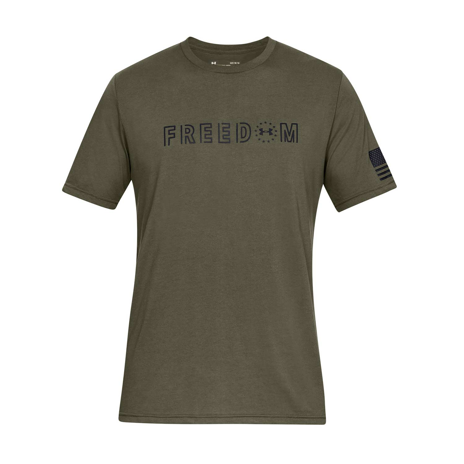 Under Armour Freedom Flag Bold T-Shirt