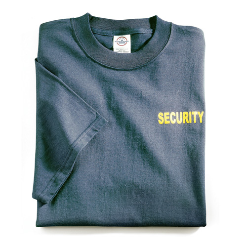 Galls Screenprinted Security T Shirt