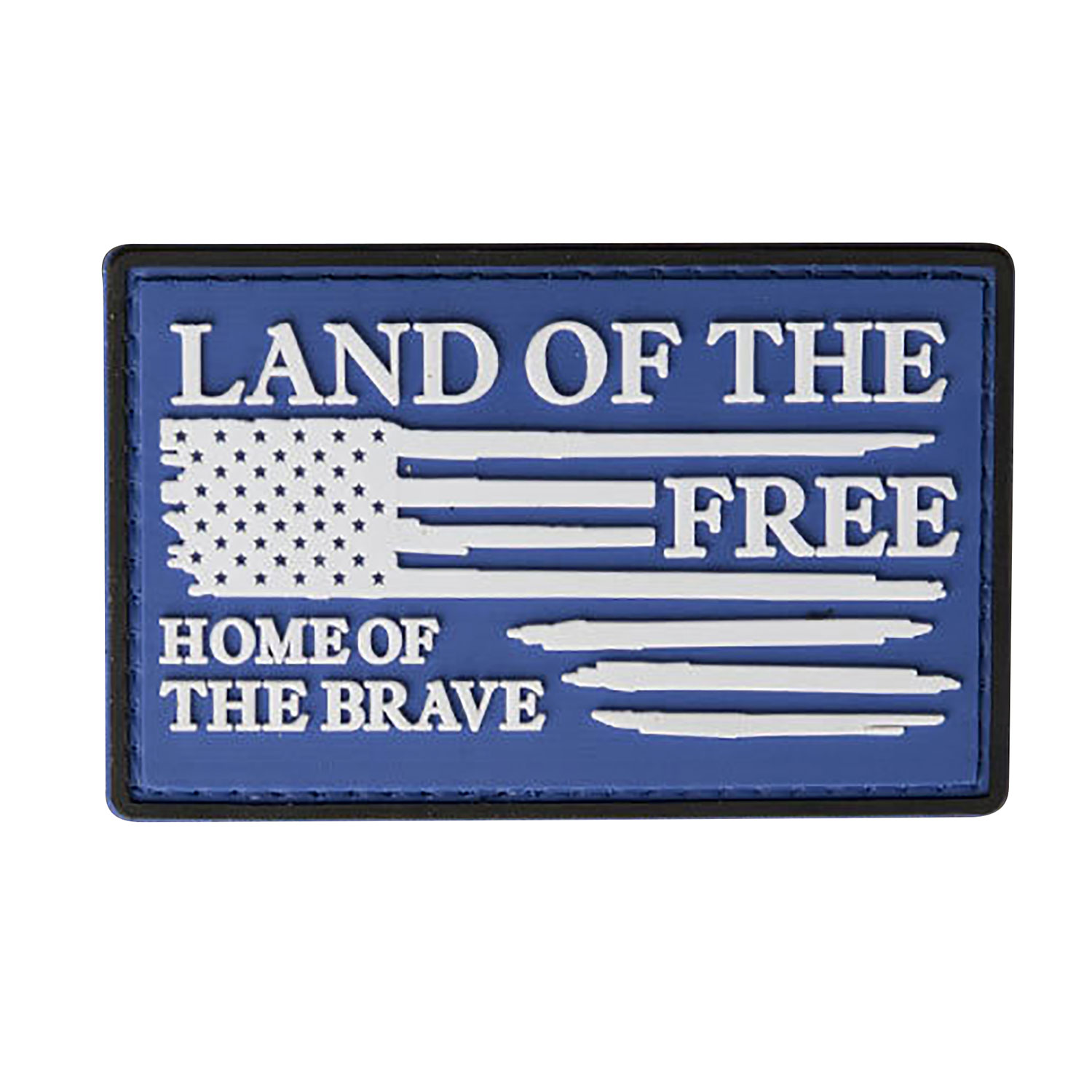 Nine Line Home of the Brave PVC Morale Patch