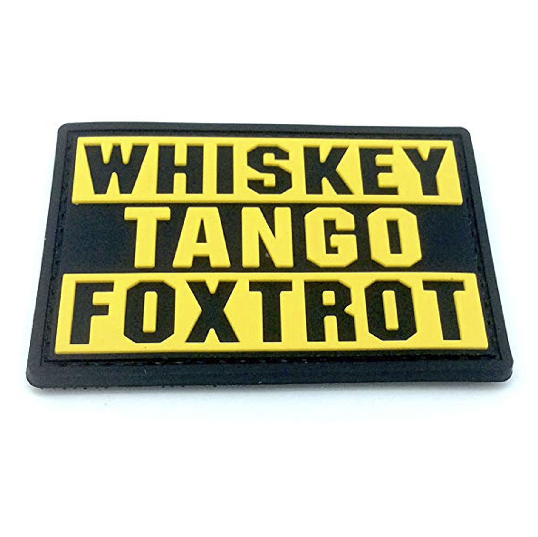 Morale PVC Whiskey Tango Foxtrot Patch