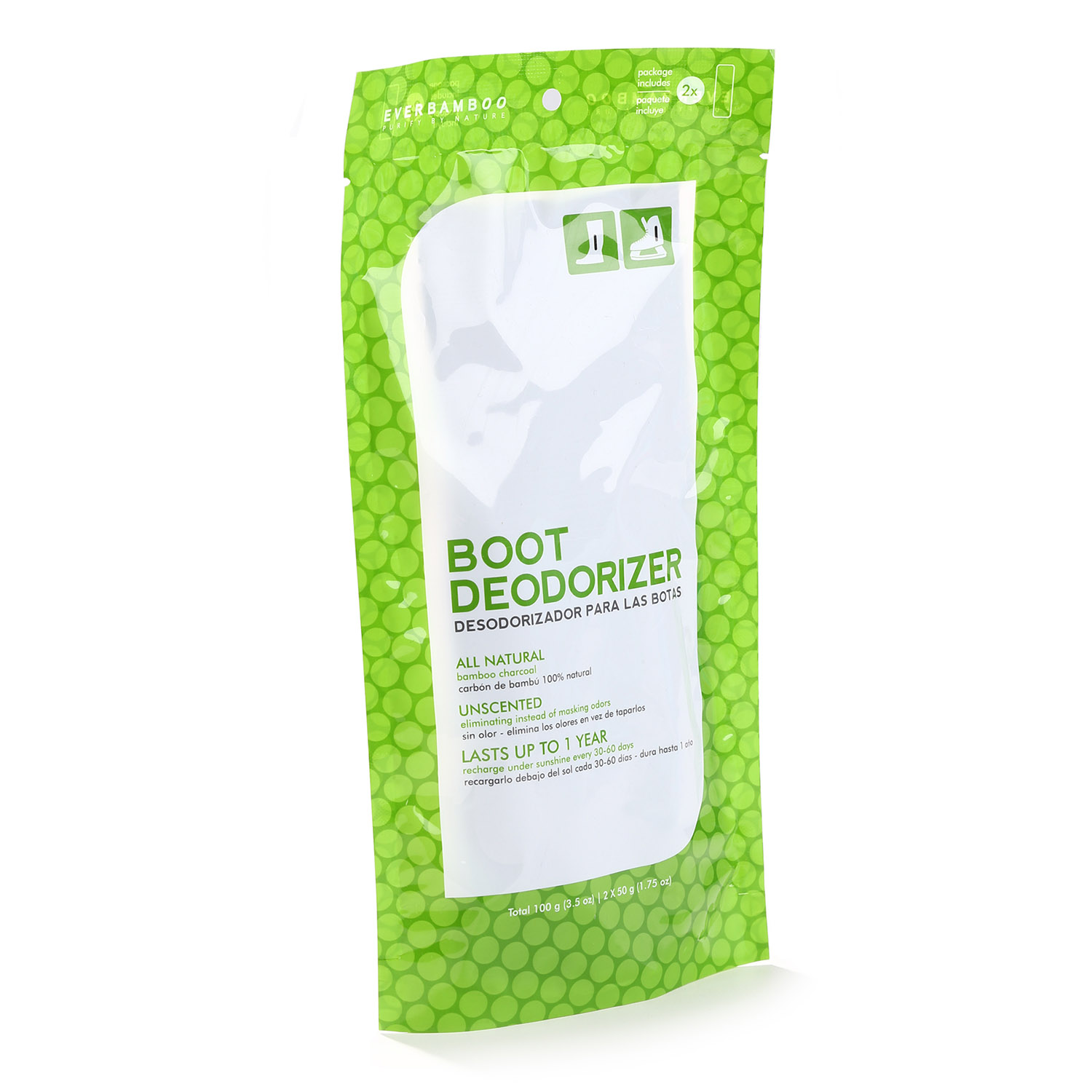 Ever Bamboo Boot Deodorizer