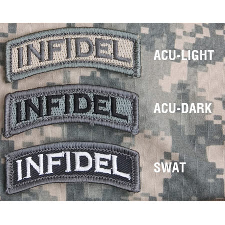 Mil-Spec Monkey Infidel Patch