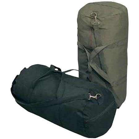 Humvee Canvas Zipper Duffle Bag